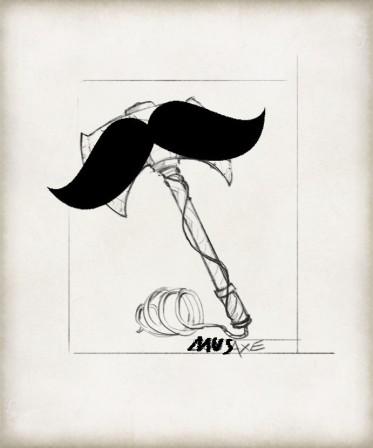 Mustacheaxe