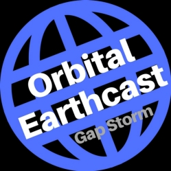 Orbital Earthcast new album cover art