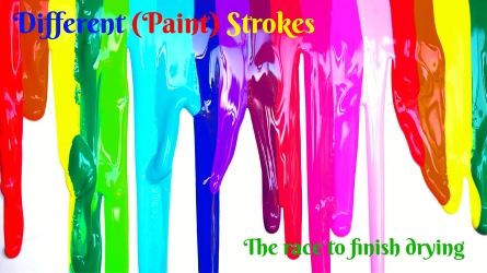 Different (Paint) Strokes